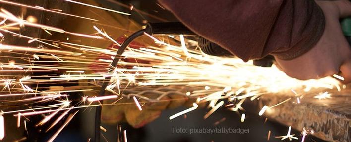 Grundausstattung für Plasmaschneider - Funkenschutz