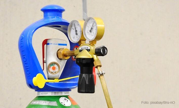 Schutzgas für MAG Schweißgerät